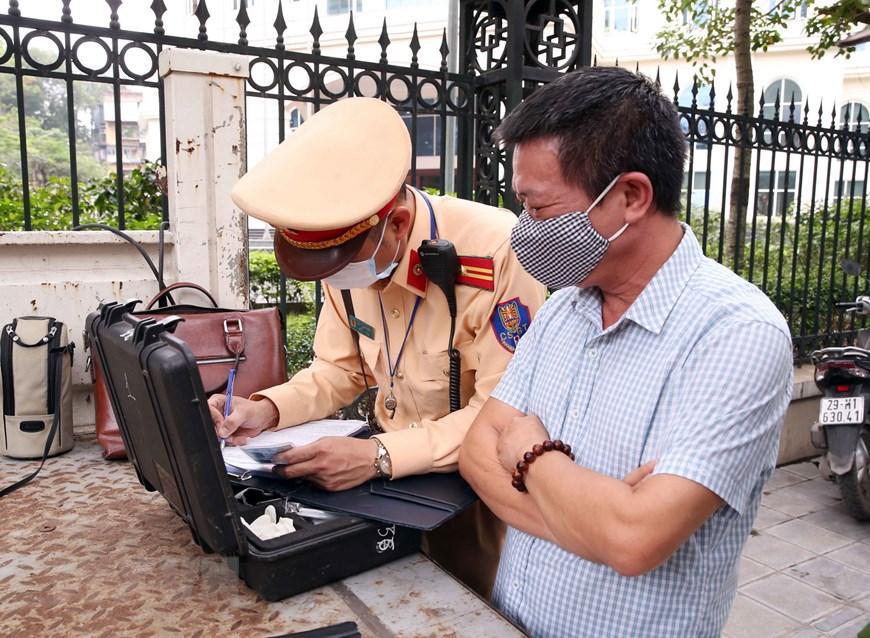 CSGT Hà Nội huy động lực lượng hướng tới ngày hội bầu cử Ảnh 5
