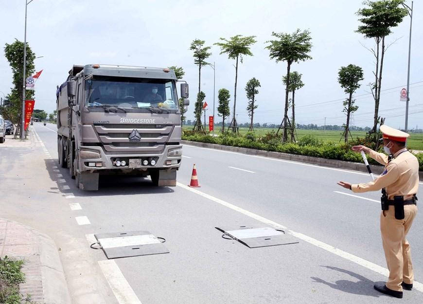 CSGT Hà Nội huy động lực lượng hướng tới ngày hội bầu cử Ảnh 7