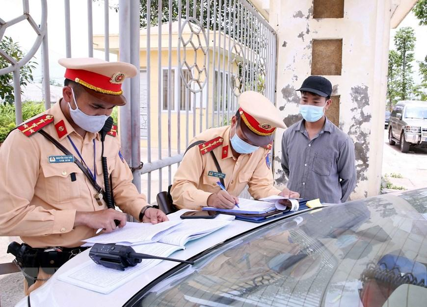 CSGT Hà Nội huy động lực lượng hướng tới ngày hội bầu cử Ảnh 13