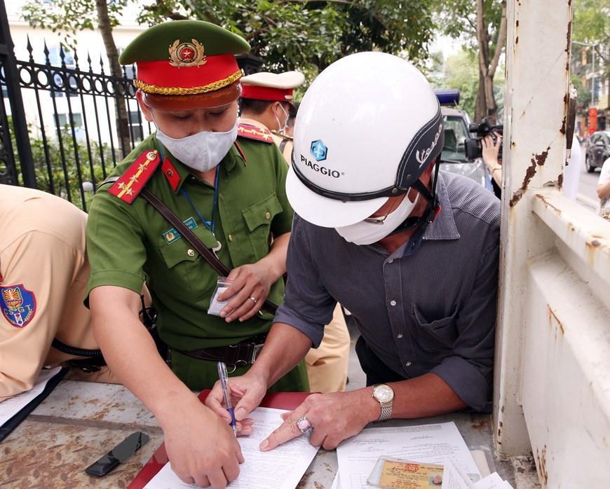 CSGT Hà Nội huy động lực lượng hướng tới ngày hội bầu cử Ảnh 10