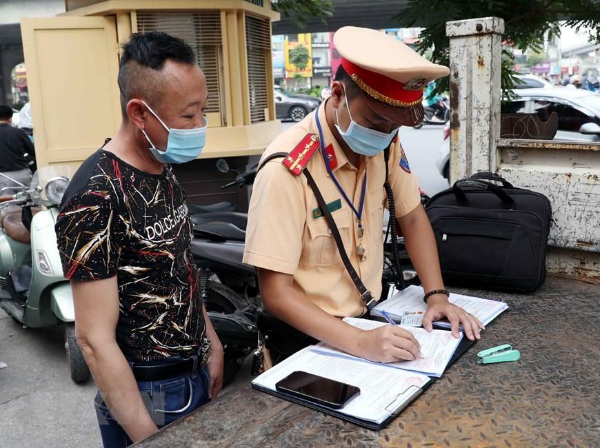 CSGT Hà Nội huy động lực lượng hướng tới ngày hội bầu cử Ảnh 14
