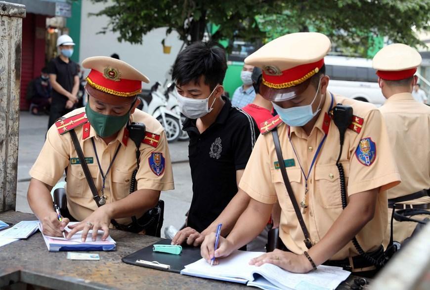 CSGT Hà Nội huy động lực lượng hướng tới ngày hội bầu cử Ảnh 6