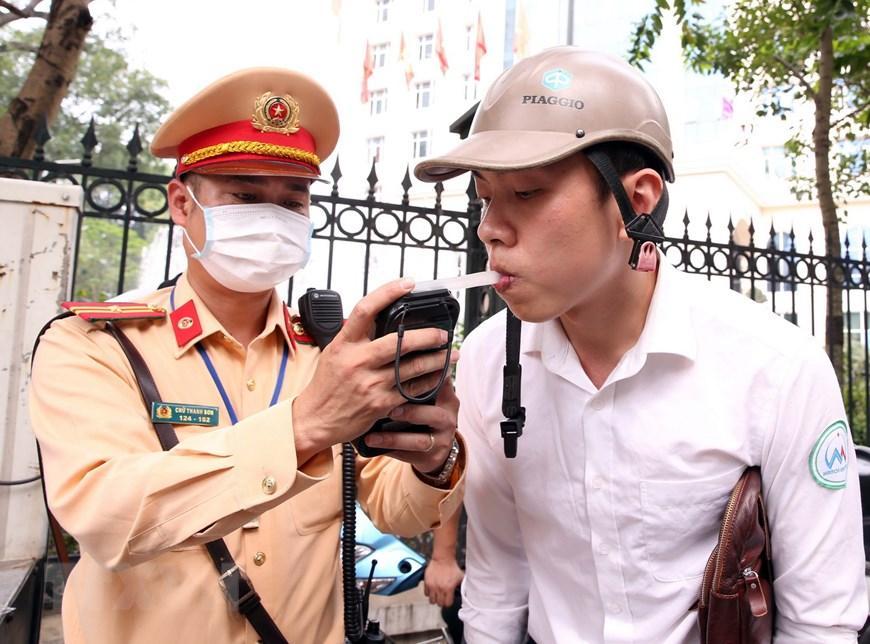 CSGT Hà Nội huy động lực lượng hướng tới ngày hội bầu cử Ảnh 3