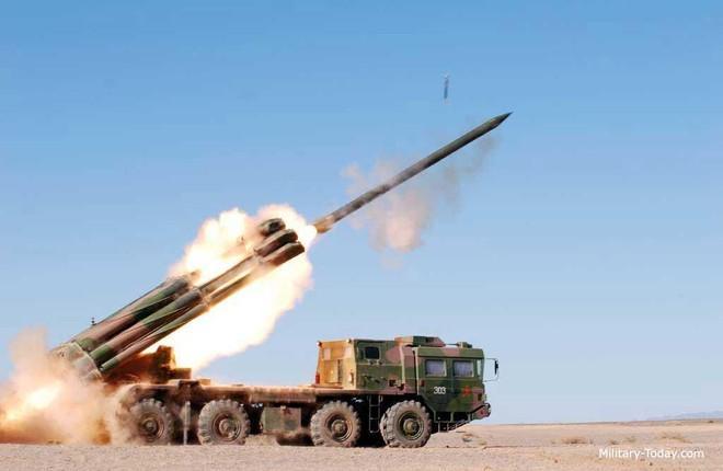 Trung Quốc triển khai hệ thống rocket phóng loạt PHL-03 đến gần biên giới Ấn Độ Ảnh 8