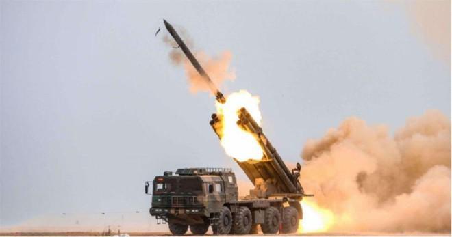 Trung Quốc triển khai hệ thống rocket phóng loạt PHL-03 đến gần biên giới Ấn Độ Ảnh 3