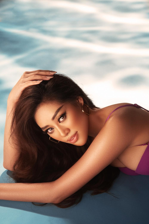Vì sao Khánh Vân lại chọn diện bikini dáng cổ điển trong những bộ ảnh gần đây? Ảnh 8