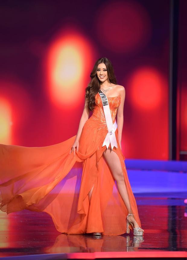 Khánh Vân nhận được 'cơn mưa' lời khen sau Đêm Bán kết Miss Universe 2020 Ảnh 6