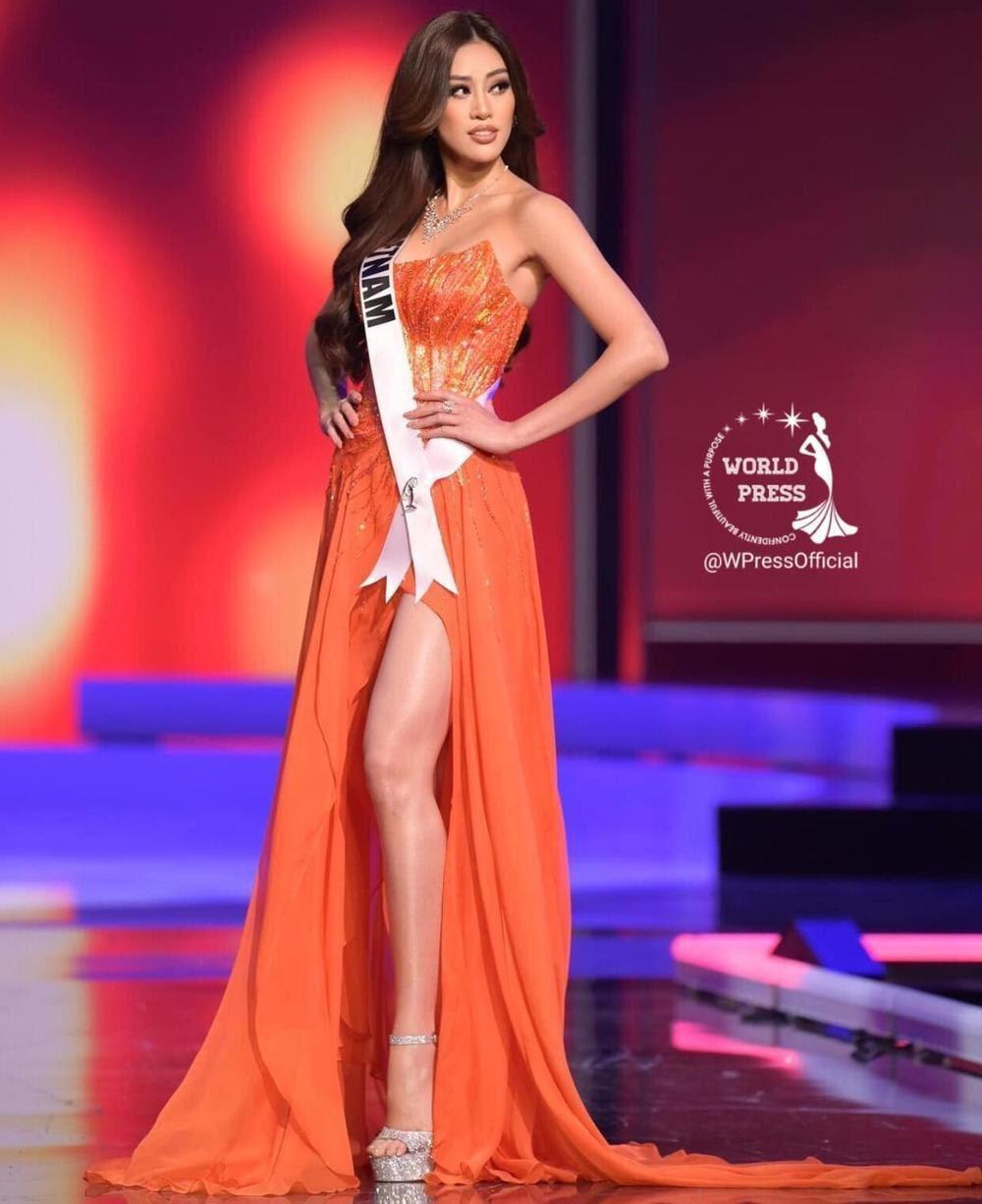 Khánh Vân nhận được 'cơn mưa' lời khen sau Đêm Bán kết Miss Universe 2020 Ảnh 1
