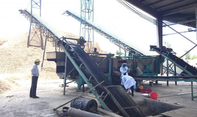 Một công nhân tử vong trong nhà máy chế biến gỗ Ảnh 1