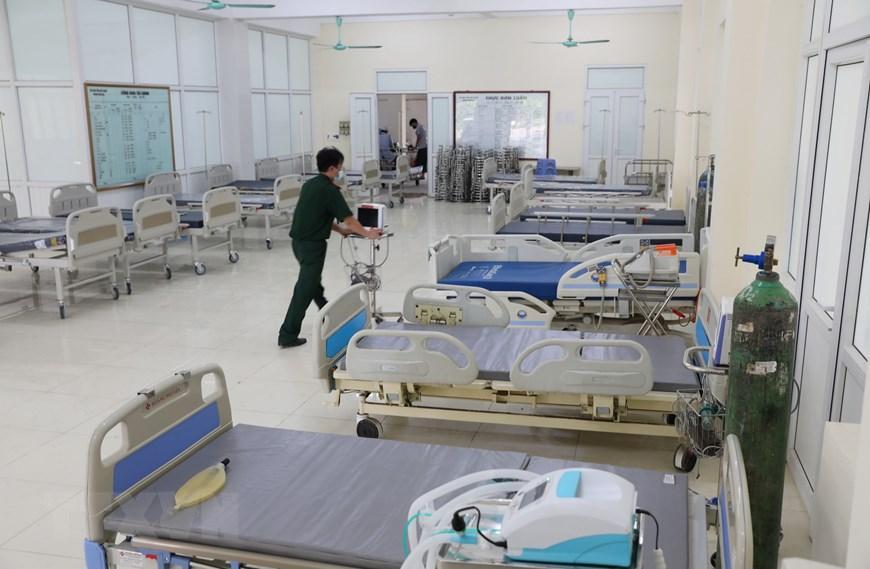 Bắc Giang thần tốc hoàn thành bệnh viện dã chiến trong ngày Ảnh 1