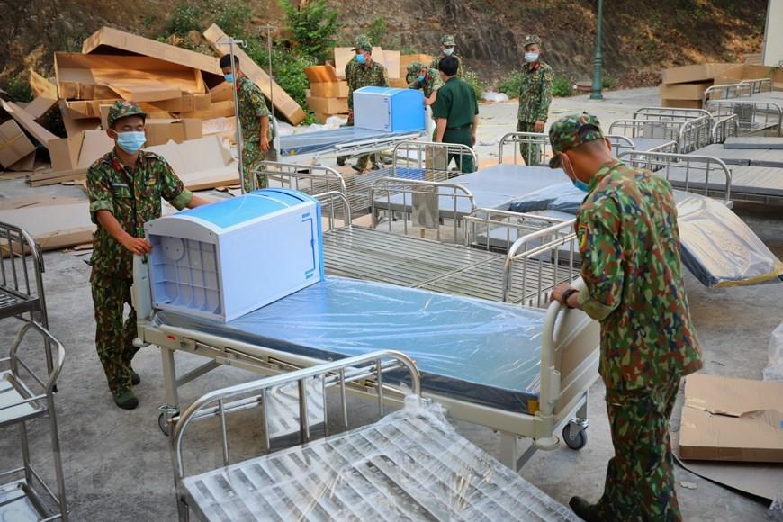 Bắc Giang thần tốc hoàn thành bệnh viện dã chiến trong ngày Ảnh 3