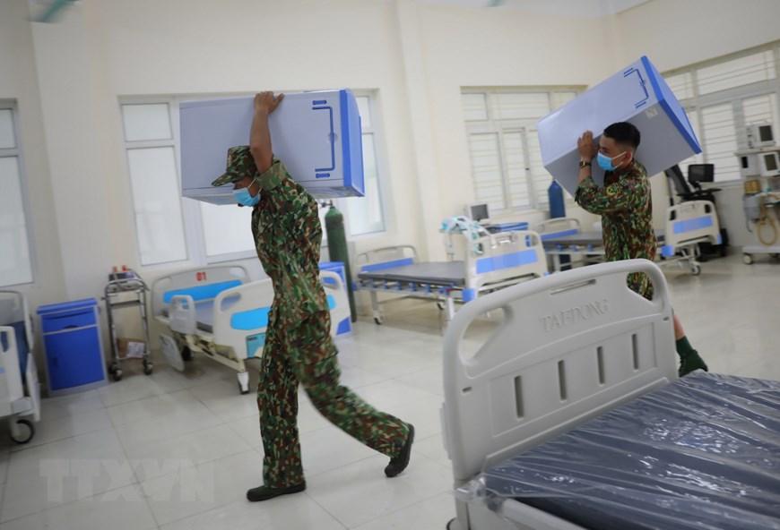 Bắc Giang thần tốc hoàn thành bệnh viện dã chiến trong ngày Ảnh 2