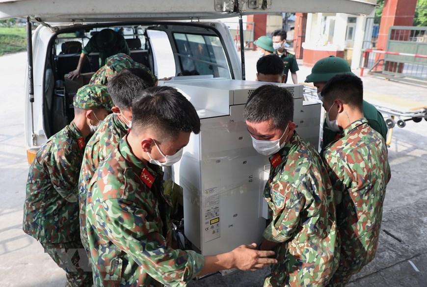Bắc Giang thần tốc hoàn thành bệnh viện dã chiến trong ngày Ảnh 6