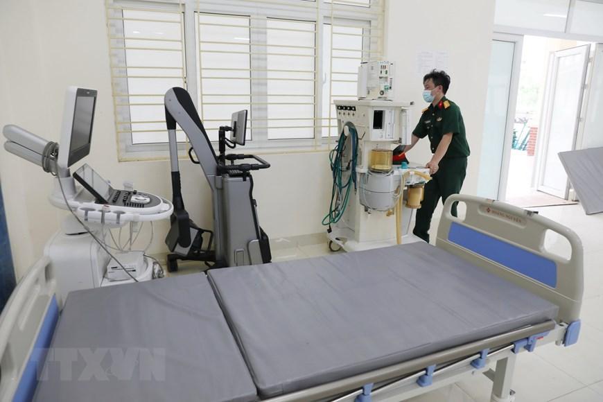 Bắc Giang thần tốc hoàn thành bệnh viện dã chiến trong ngày Ảnh 8