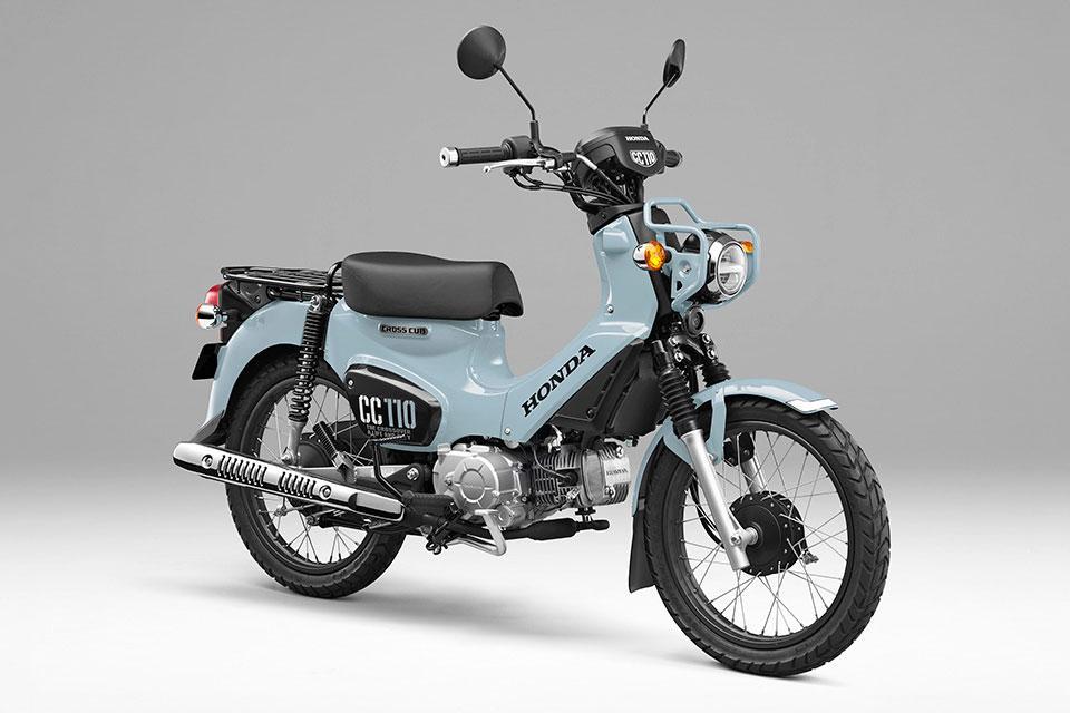 Honda Cross Cub 110 2021 phiên bản giới hạn, giá hơn 72 triệu đồng Ảnh 1