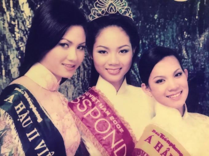 Sau 19 năm, cuộc sống top 3 Hoa hậu Việt Nam 2002 giờ ra sao? Ảnh 1