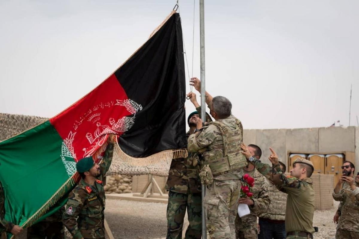 Afghanistan 'sẵn sàng' chiến đấu với Taliban sau khi Mỹ rút quân Ảnh 1