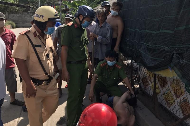 Thanh niên thất nghiệp đi trộm xe bị tổ phòng chống dịch bắt Ảnh 1