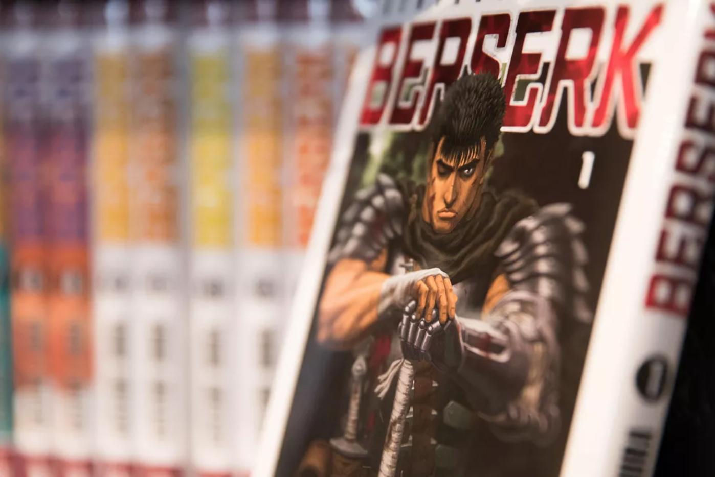 Tác giả bộ truyện tranh 'Berserk' qua đời Ảnh 1