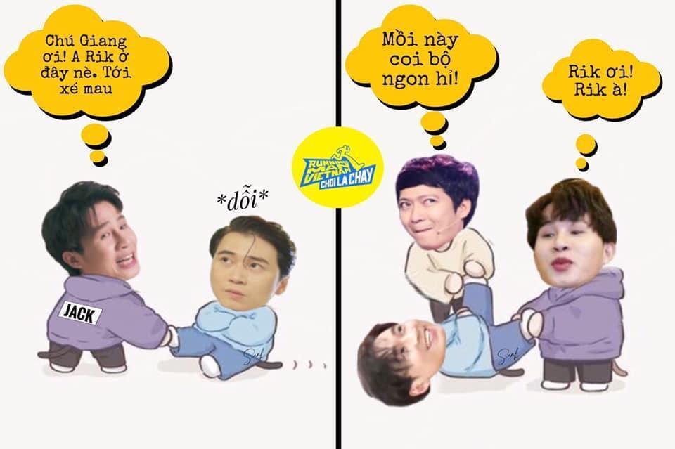 Running Man Việt Nam tung poster mới siêu hài, Jack bỗng trở nên khác biệt ở dàn cast Ảnh 2
