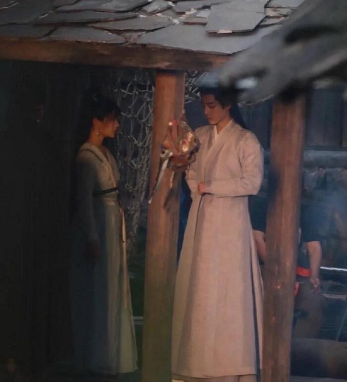 Nhan sắc 'người tình màn ảnh' bị chê như người hầu của Tiêu Chiến Ảnh 2