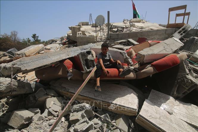 Ai Cập gửi 130 xe hàng cứu trợ tới Dải Gaza Ảnh 1