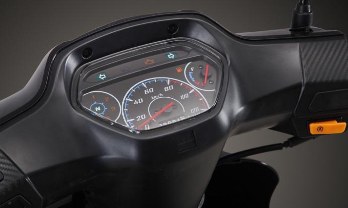 Xe máy số Daytona DY125RS 2021 ra mắt, giá 45 triệu đồng Ảnh 12