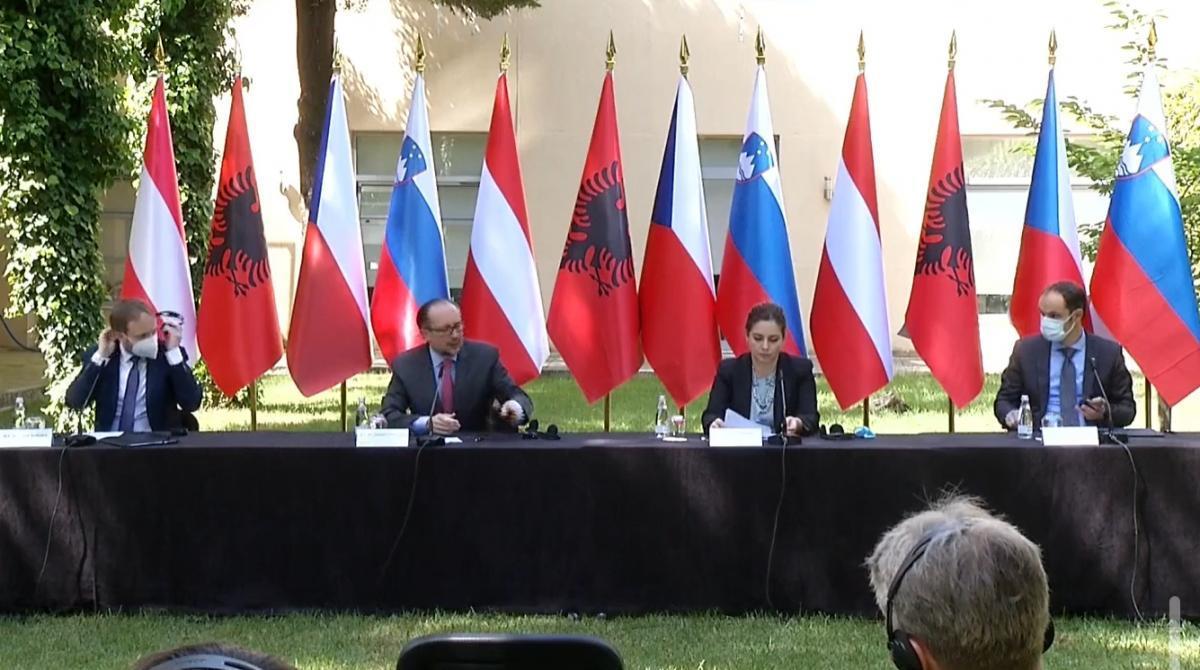Áo, Cộng hòa Séc và Slovenia ủng hộ Bắc Macedonia gia nhập EU Ảnh 1