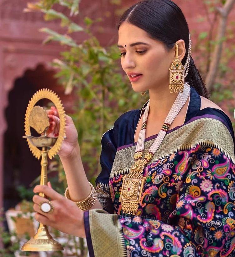Đại diện Ấn Độ tại Hoa hậu Hòa bình Quốc tế 2021 Ảnh 6