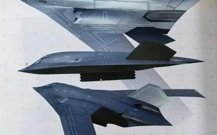 Rò rỉ hình ảnh máy bay ném bom 'át chủ bài' Trung Quốc giấu kín Ảnh 1