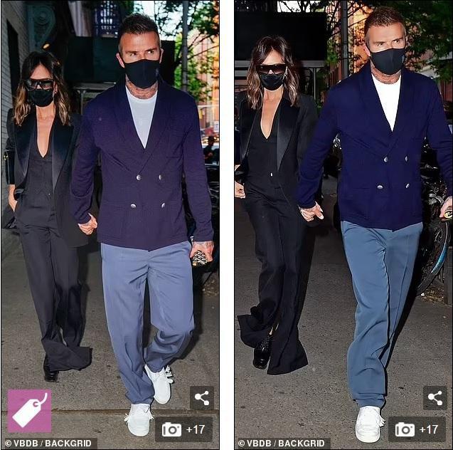 Victoria Beckham 'thả rông', tay trong tay cùng ông xã hẹn hò Ảnh 3