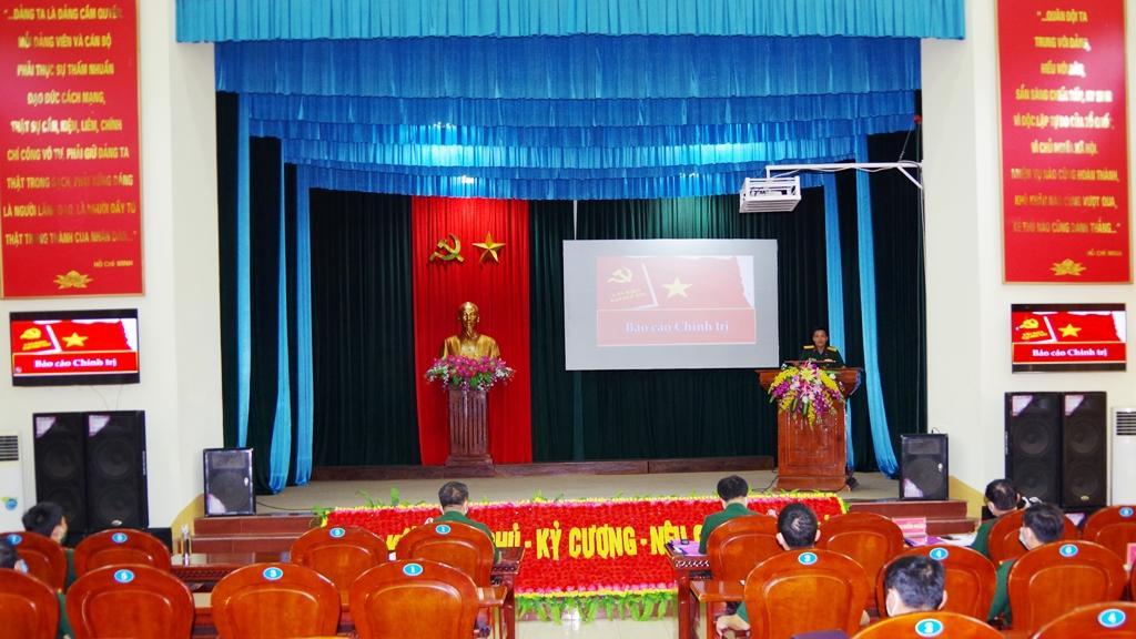 Bộ CHQS tỉnh Sơn La tổ chức Hội thi Báo cáo viên giỏi năm 2021 Ảnh 2