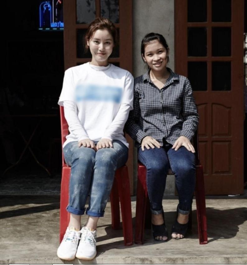 Hoa hậu Hàn Quốc và lời hứa 10 năm đầy xúc động với cô con gái nuôi người Việt Ảnh 2