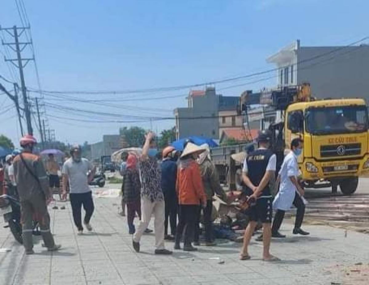 Ba công nhân tại Quảng Ninh bị thương do điện giật Ảnh 1