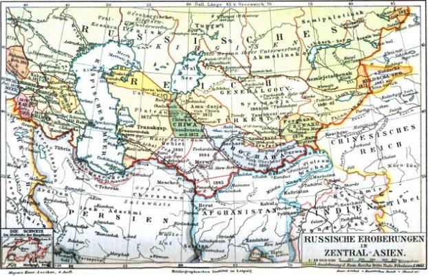 Lịch sử quá trình nước Nga sáp nhập các quốc gia khu vực Trung Á Ảnh 1