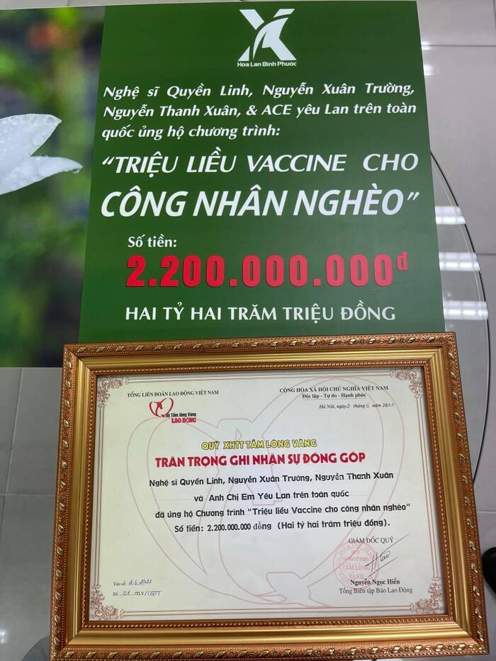 MC Quyền Linh khiến khán giả nể phục khi tiếp tục ủng hộ 2,2 tỷ cho quỹ vắc xin Ảnh 4