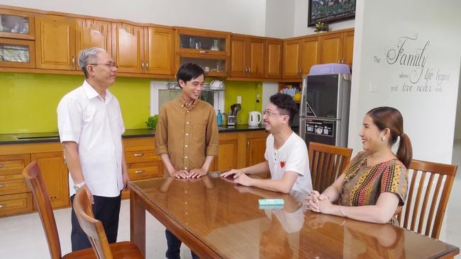 Nghệ sĩ Trung Dân công khai tình cảm với Phi Phụng ở Kiếm chồng cho mẹ chồng Ảnh 2