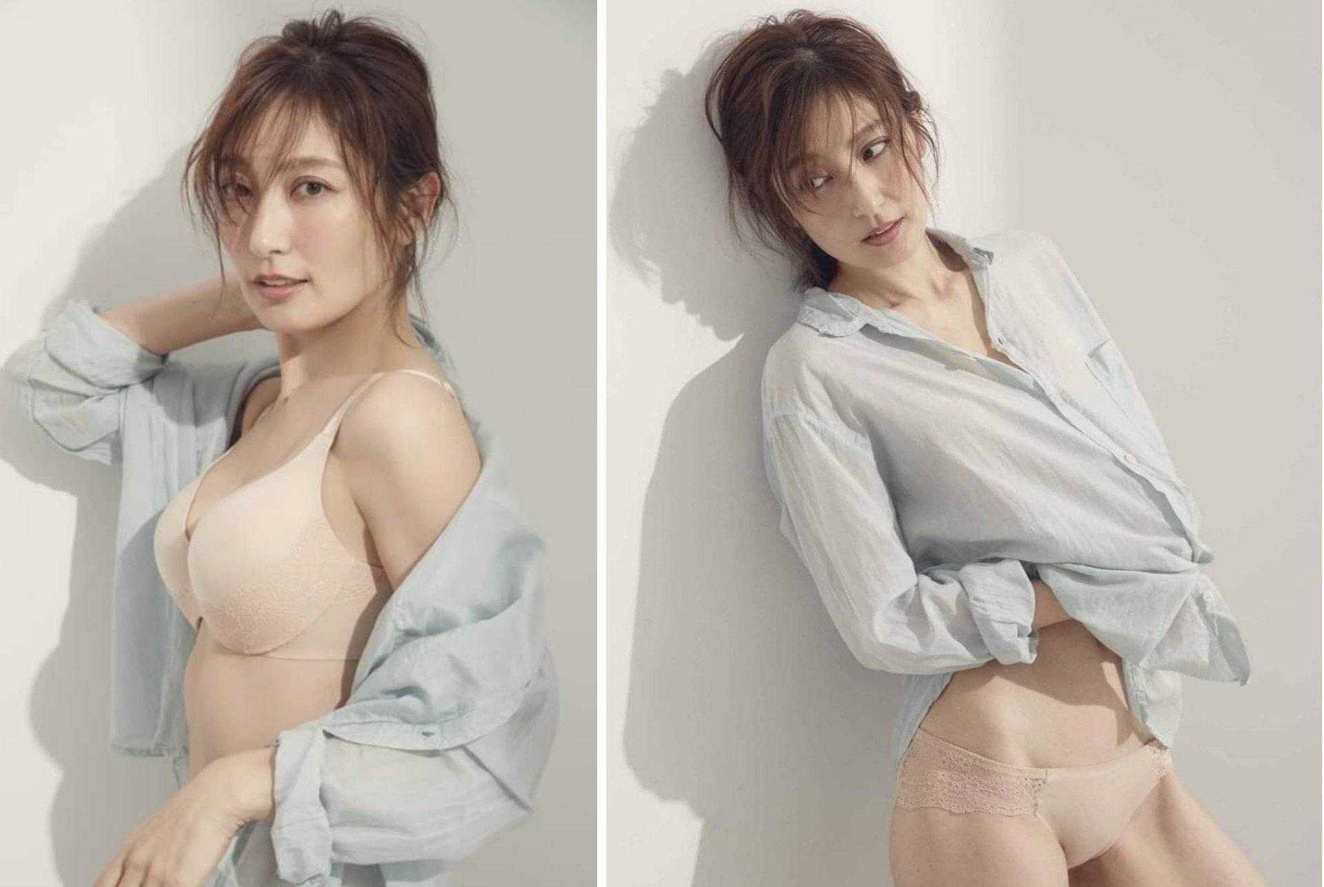 'Nữ thần áo tắm' Nhật Bản khiến bao người mê đắm bị chồng bạo hành Ảnh 6