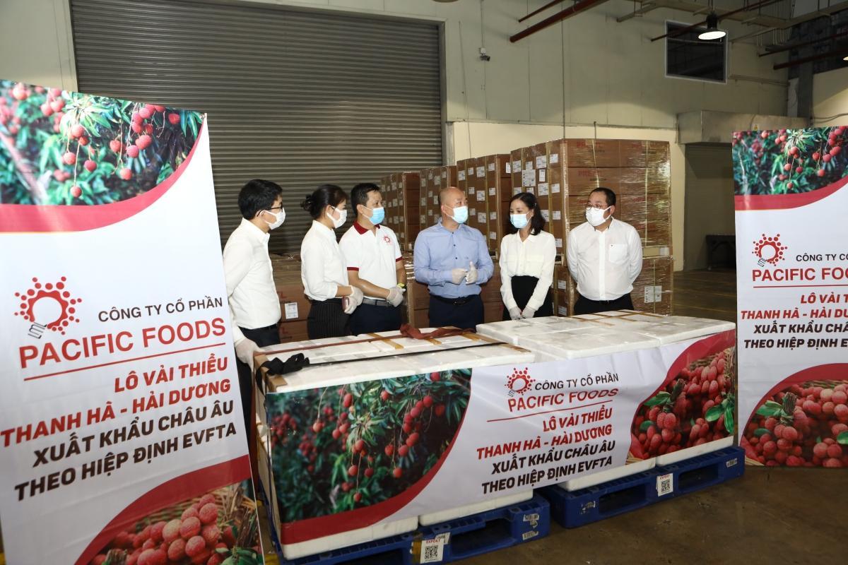 Vải thiều Việt Nam chính thức 'chinh phục' thị trường EU Ảnh 2