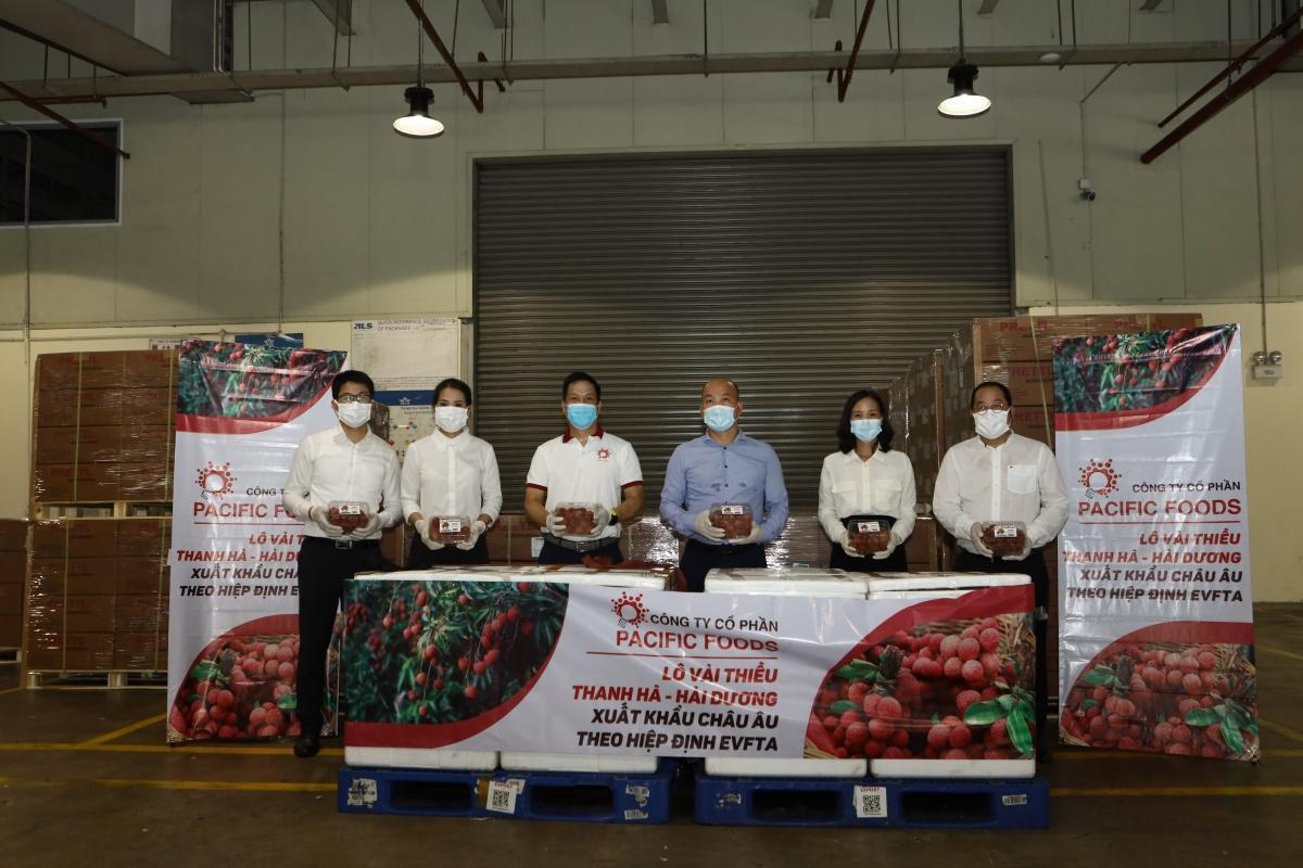 Vải thiều Việt Nam chính thức 'chinh phục' thị trường EU Ảnh 1