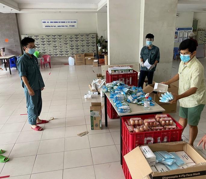 Mở rộng xét nghiệm khẩn 12.000 cư dân 14 tòa nhà chung cư Ehome3 - Tây Sài Gòn Ảnh 3