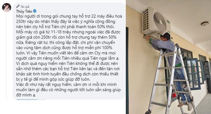 Thủy Tiên công khai hình ảnh gửi tặng thiết bị y tế cho Bắc Giang Ảnh 2
