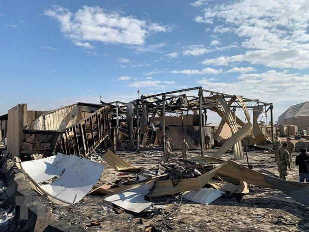 Tấn công bằng máy bay không người lái nhằm vào sân bay ở Iraq Ảnh 1