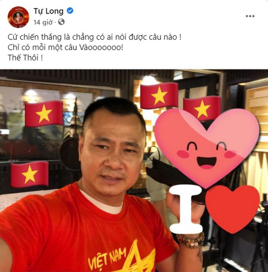 Dàn Hoa hậu, Á hậu nô nức cổ vũ, vỡ òa khi đội tuyển Việt Nam thắng 2-1 trước Malaysia Ảnh 2