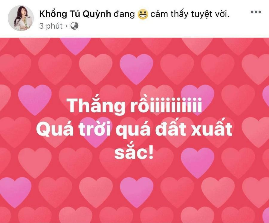 Dàn Hoa hậu, Á hậu nô nức cổ vũ, vỡ òa khi đội tuyển Việt Nam thắng 2-1 trước Malaysia Ảnh 15
