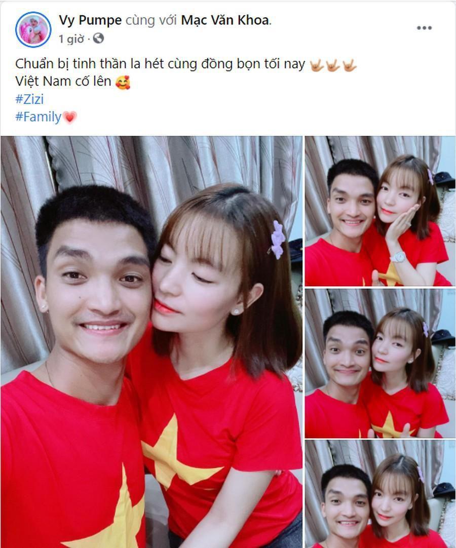 Dàn Hoa hậu, Á hậu nô nức cổ vũ, vỡ òa khi đội tuyển Việt Nam thắng 2-1 trước Malaysia Ảnh 6