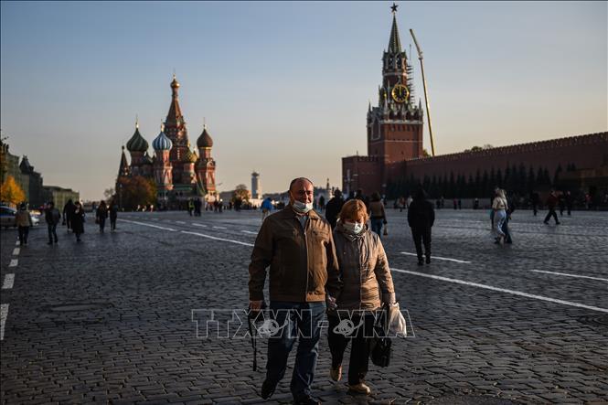 Thủ đô của Nga tăng cường các biện pháp hạn chế tại nơi công cộng Ảnh 1