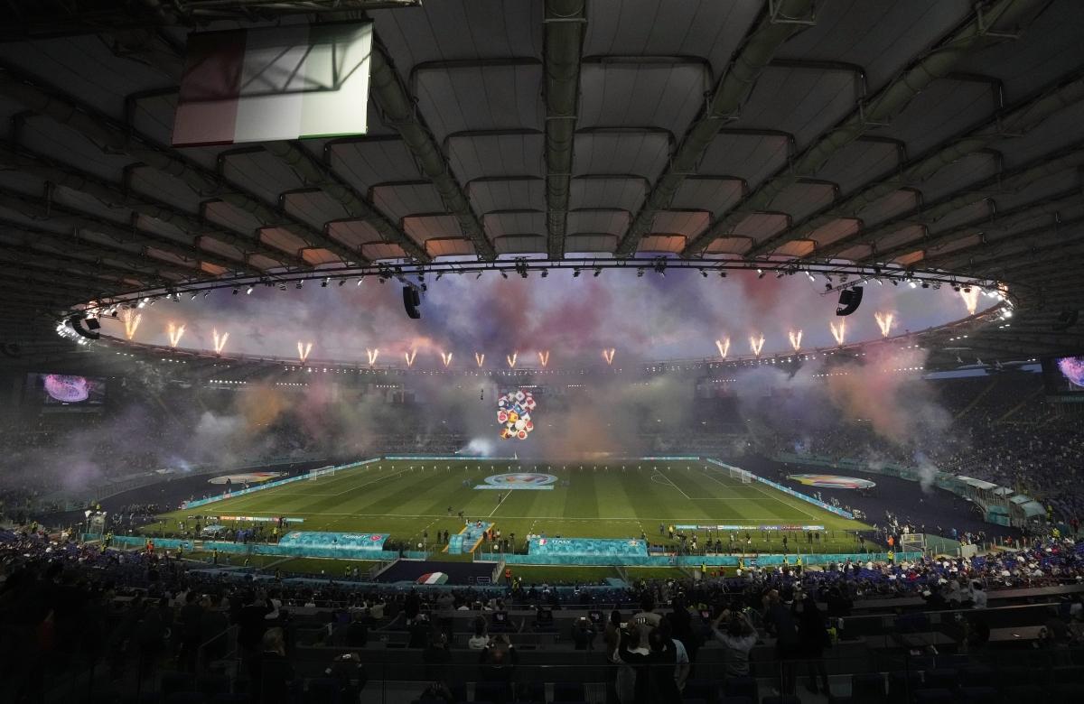 Lễ khai mạc EURO 2021: Đại tiệc âm thanh và ánh sáng Ảnh 4