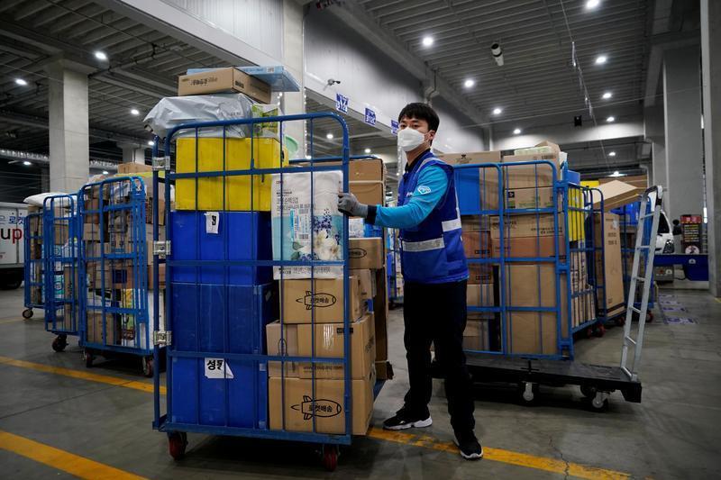 Hàng nghìn nhân viên giao hàng Hàn Quốc đình công vì làm việc quá sức Ảnh 1