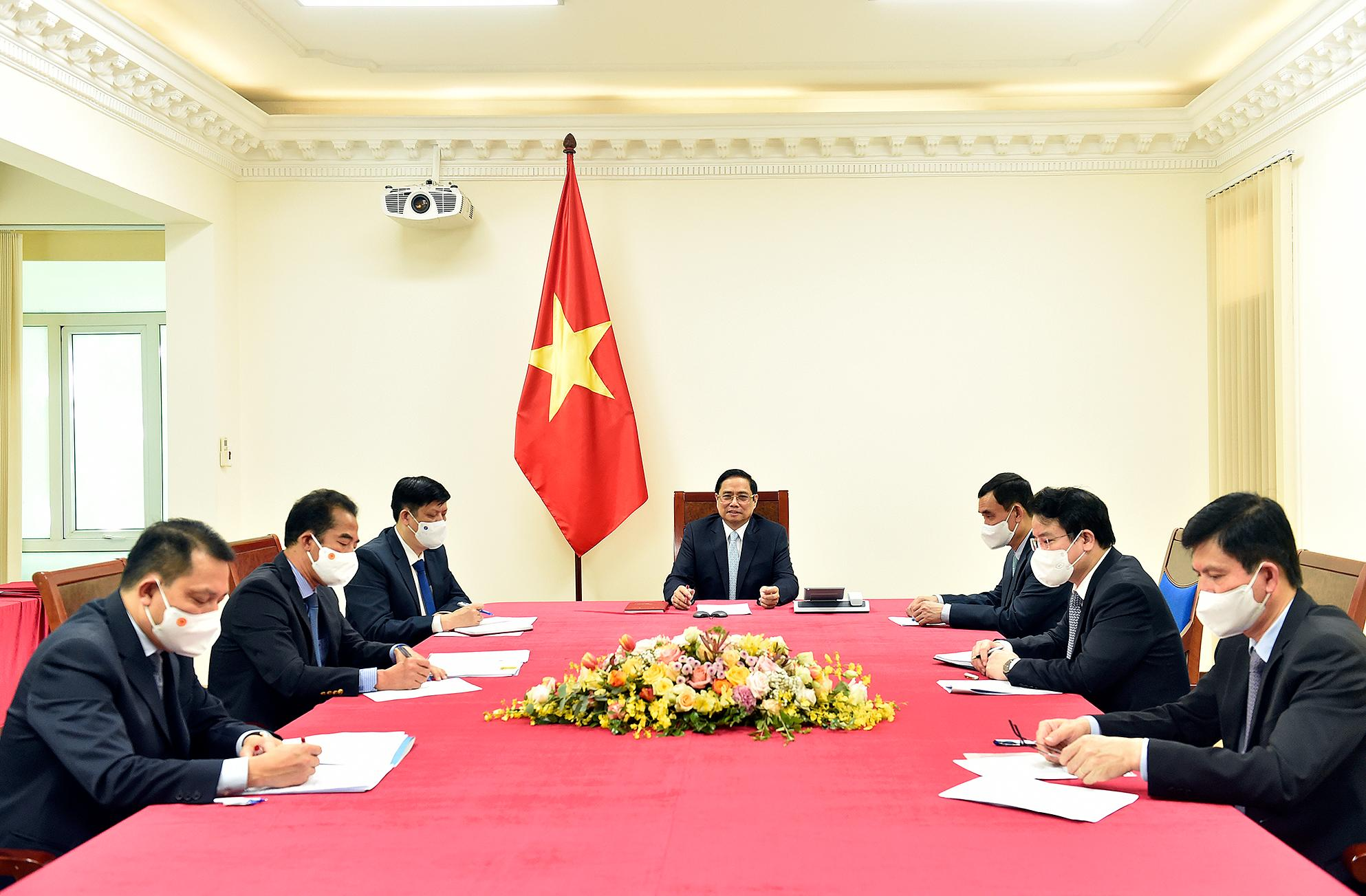 Thủ tướng Pháp khẳng định hỗ trợ Việt Nam trong chiến lược cung cấp vaccine Ảnh 2